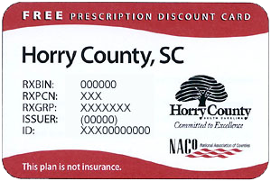 horry county prescription card - Free Prescription Card